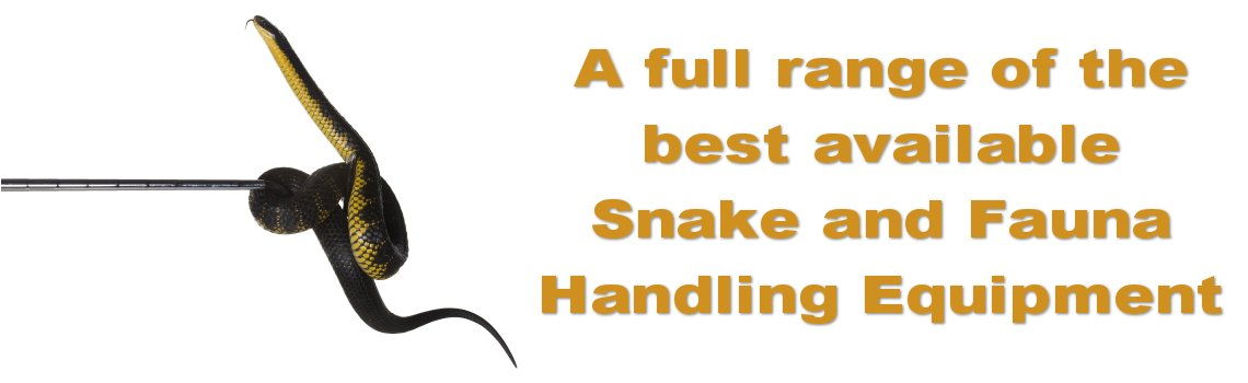 Snake and Fauna Handling Equipment